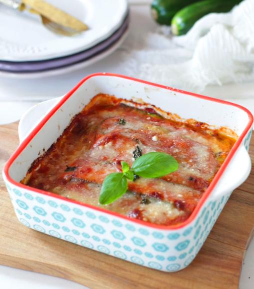 Parmigiana di zucchine con Estratto vegetale Liebig
