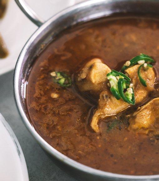 Pollo ai profumi indiani