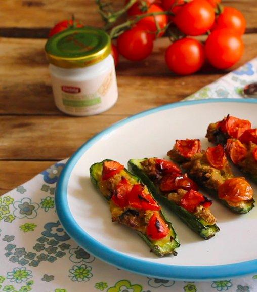 Zucchine gratinate al forno all'Estratto vegetale Liebig